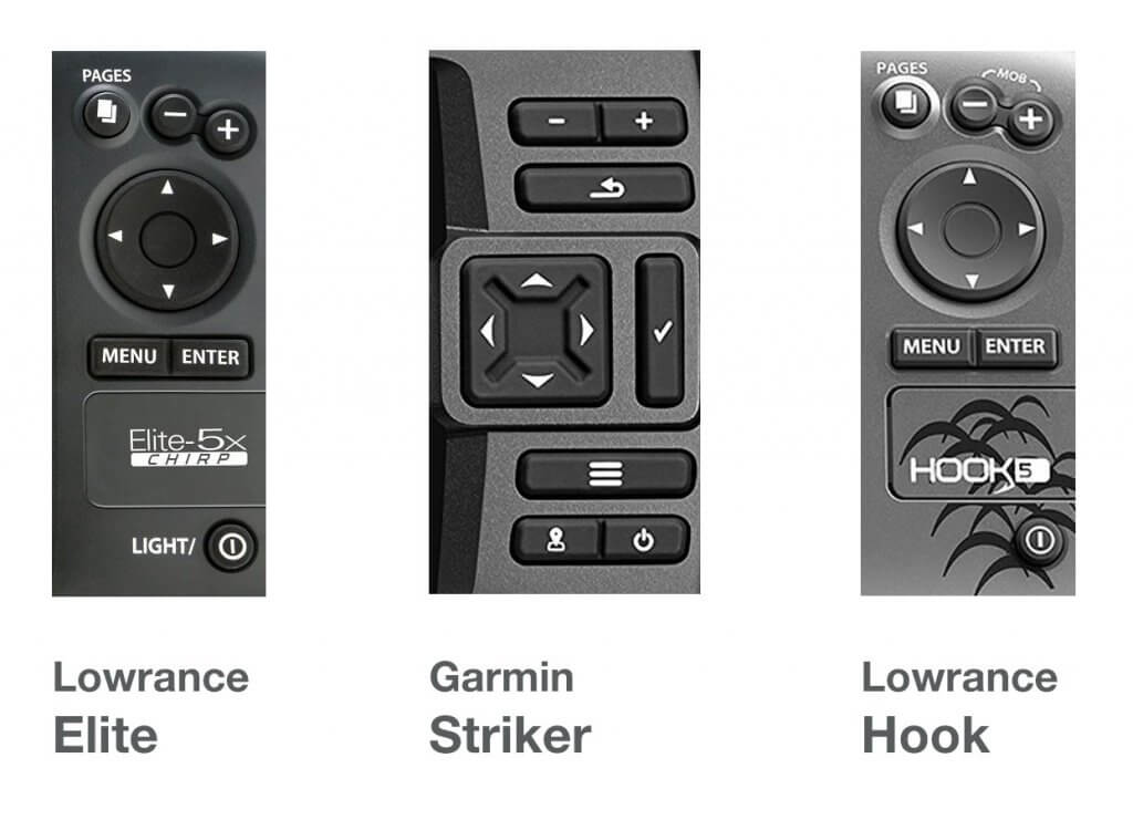 Elite vs Striker vs Hook Buttons
